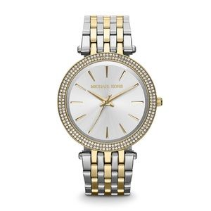 New Michael Kors Darci Two Tone MK3215 39mm Watch